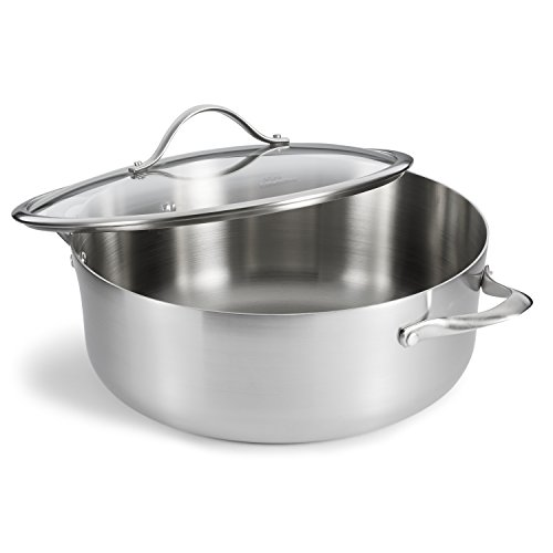Calphalon Contemporary Stainless Steel 8 Quart Dutch Oven With