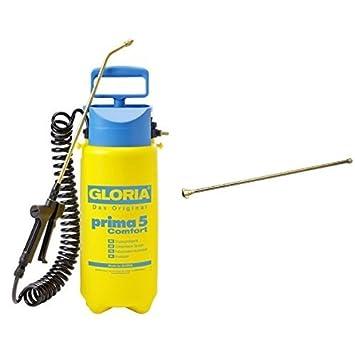 Gloria Drucksprüher Drucksprühgerät Prima 3 Liter Sichtstreifen Messingdüse