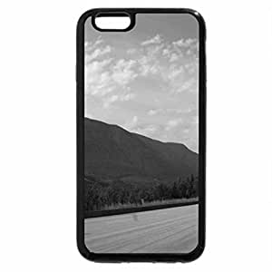 iPhone 6S Plus Case, iPhone 6 Plus Case (Black & White) - The Rockies mountains in BC - Canada 73