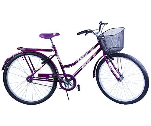 Bicicleta Aro 26 Feminina VB Malaga Violeta