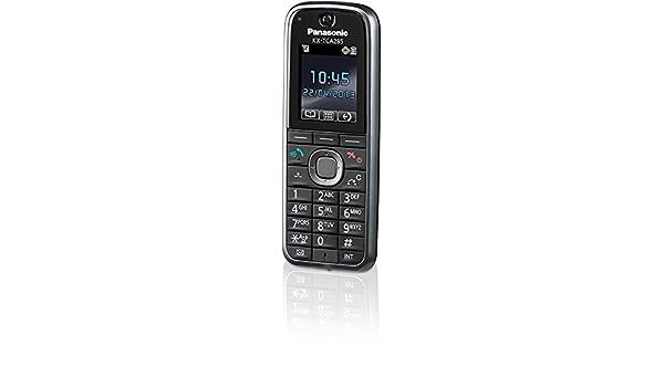 Panasonic KX-TCA285 - teléfonos inalámbricos (Negro, LCD, Ión de litio) [versión importada]: Amazon.es: Electrónica