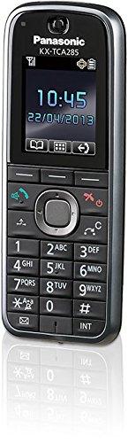 Panasonic KX-TCA285 - teléfonos inalámbricos (Negro, LCD, Ión de litio)
