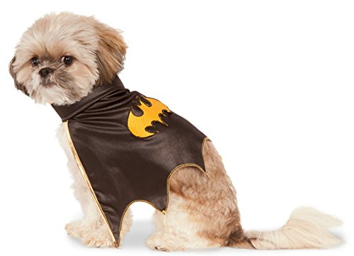 DC Comics Batgirl Pet Cape, (Cat Halloween Costumes Bat)