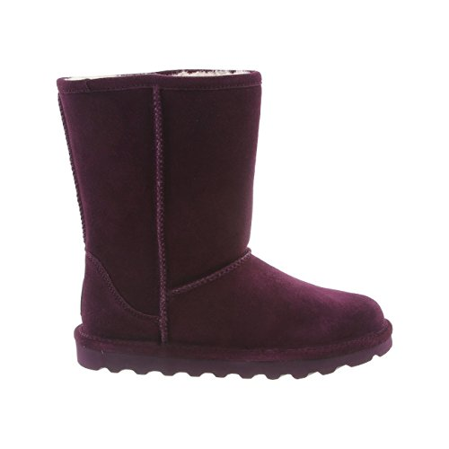 Plum Winter Women's 6 Short Size Boot BEARPAW Elle 4XqzwtdR