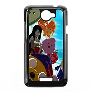 Adventure Time Characters HTC One X Cell Phone Case Black DIY TOY xxy002_834647