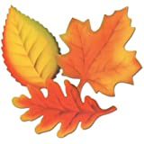 Printed Leaf Cutouts - 24 Per Package