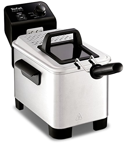 Tefal FR333040 Easy Pro Deep Fryer, (5 Portions), 1.2 Kg Capacity, 2100 W, Stainless Steel