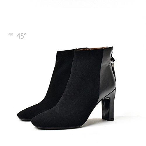 hexiajia Sandalias de Vestir Mujer negro