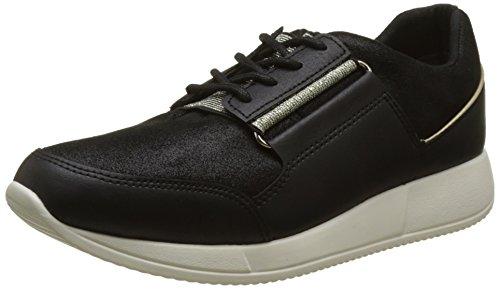 Tommy Hilfiger Damen S1285amantha 4c1 Sneakers Schwarz (Black)