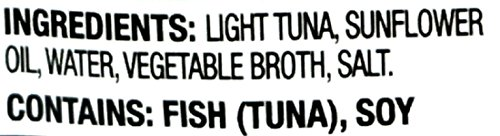Starkist Chunk Light Tuna In Sunflower Oil, 2.6-Ounce Pouch (Pack of 6) 4 Hand Packed Tuna with Delicately Flavored Sunflower Oil in a No Drain Flavor Fresh Pouch An Excellent Choice for People Who Prefer Tuna Packed in Oil, but are Concerned about Their Health High in Omega-3's, Contains 250mg Per Serving of EPA and DHA Combined, which is 156% of the 160mg Daily Value for a Combination of EPA and DHA