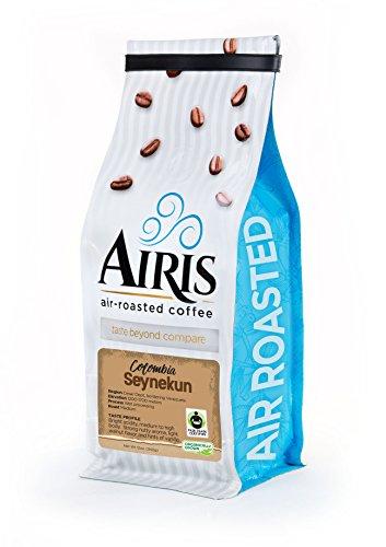FTO Colombia Seynekun Coffee, Ensemble Bean, AIR ROASTED COFFEE by Airis Coffee Roasters (12oz bag)