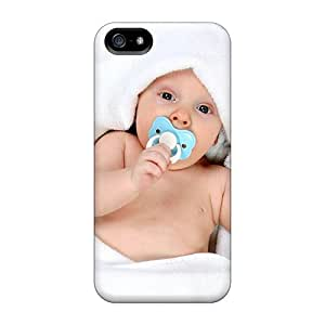 Iphone 5/5s MFcCh5207YnvrP Baby Cute Wallpaper 57 Tpu Silicone Gel Case Cover. Fits Iphone 5/5s