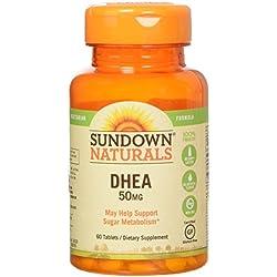 Sundown Naturals Dhea 50 Mg, 60 Count