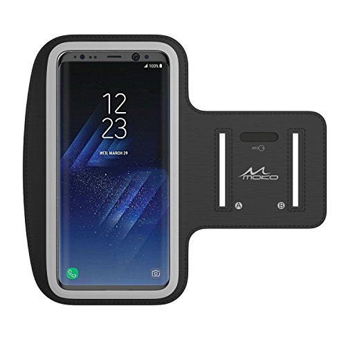 Sports Armband for Samsung Galaxy Note 4 (Black) - 3