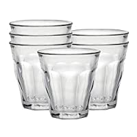 Deals on 6-Set Duralex Made In France Picardie Clear Tumbler 4.63oz
