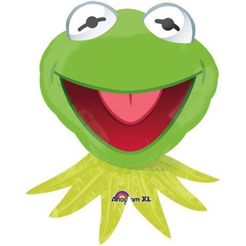 Kermit the Frog Muppets Character Shape 30