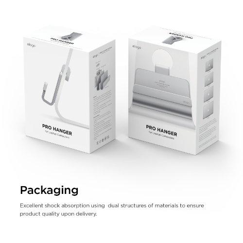 elago Pro Hanger for Mac - Laptop Shelf for iMac, Thunderbolt, and other Apple Displays by elago (Image #7)