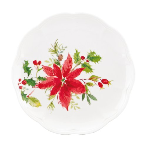 (Lenox Winter Meadow Poinsettia Accent Plate)