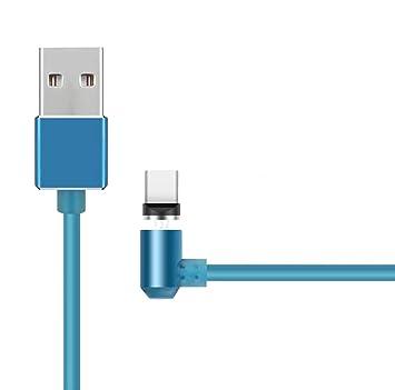 Cable compatible con Xiaomi Mi A1 magnetico 90 Grados Alta ...