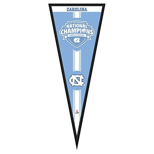 Photo File NCAA North Carolina Tar Heels Basketball National Champions Pennant Frame, 13