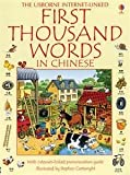 1000 chinese words - First 1000 Words in Chinese by Heather Amery (2014-07-06)