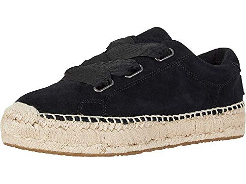 UGG Women's Brianna Moccasin, Black, 8 M US