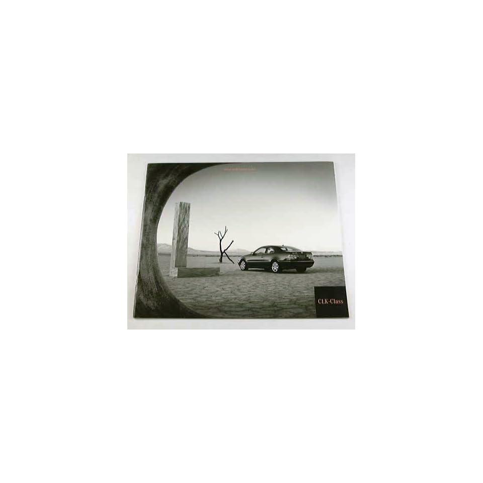 2000 00 Mercedes Benz CLK CLASS BROCHURE CLK320 CLK430