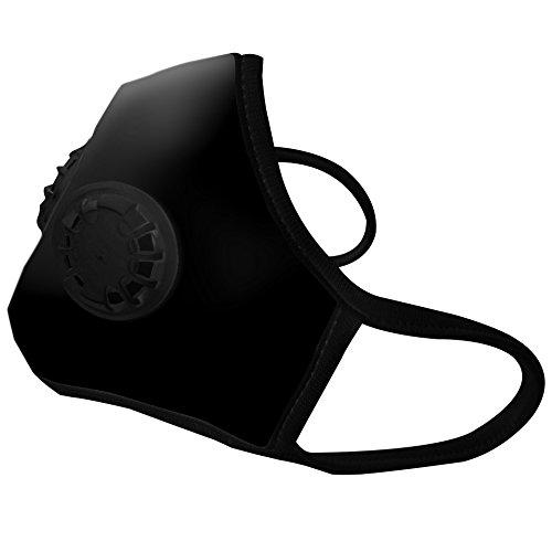 vogmask black n99 c2v medium 51 130 lbs 23 58 kg air pollution masks best fashion face. Black Bedroom Furniture Sets. Home Design Ideas