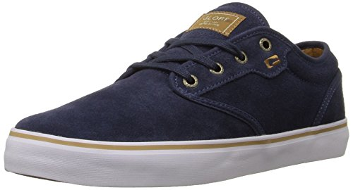 Globe Heren Bonte Skate Schoen Navy / Tan