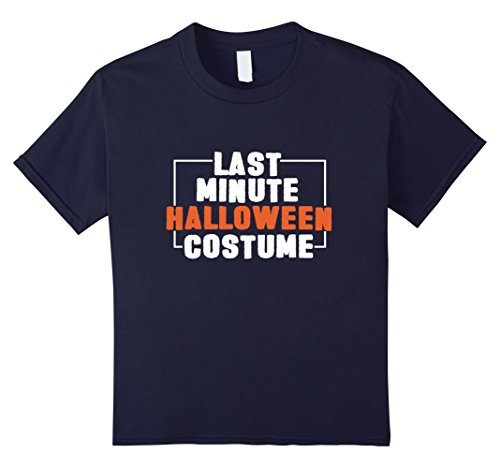 Last Minute Halloween Costumes To Wear To Work (Kids Last Minute Halloween Costume Funny Party Tshirt Men Womens 12 Navy)
