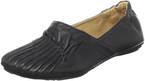 Chocolat Blu Women's Cam2 Flat Black Leather