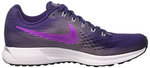 Nike Damen Air Zoom Pegasus 34 Laufschuhe Violett (Ink/hyper Violet/provence Purple/barely Grape/black/white)