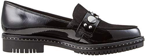 blk Women''s 37 blk Tamaris 24304 Pat Black Loafers 21 XxdRO