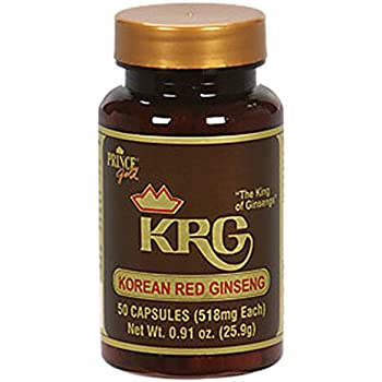 Prince Of Peace 46683 Korean Red Ginseng 518 mg 50 capsules