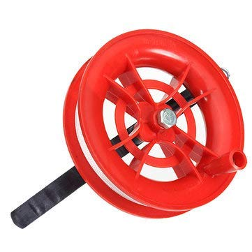 (Outdoor Recreation Kite - Fire Kites Reel Winder Wheel Handle 100M Twisted String Line Toys - 1 X Fire Wheel Kite Winder by Vuantu)