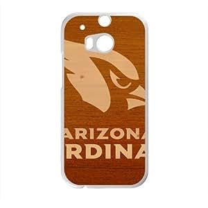 Arizona Cardinals Phone Case for HTC M8 Black