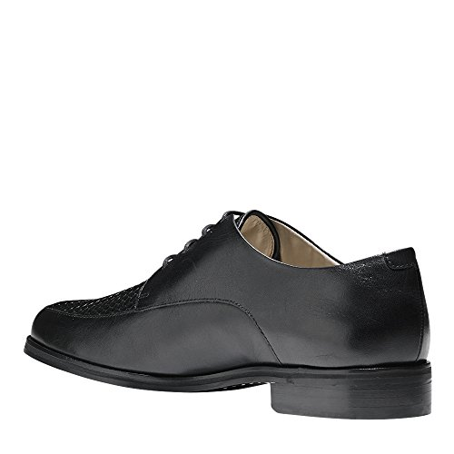 Cole Haan Donna Micaela Grand Weave Oxford In Pelle Nera