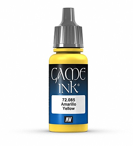 Vallejo Game Color Yellow Paint, 17ml