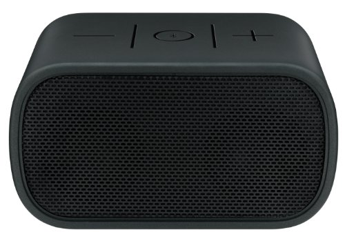 Logitech UE Mobile Boombox Bluetooth Speaker and Speakerphone (Black Grill/Black)