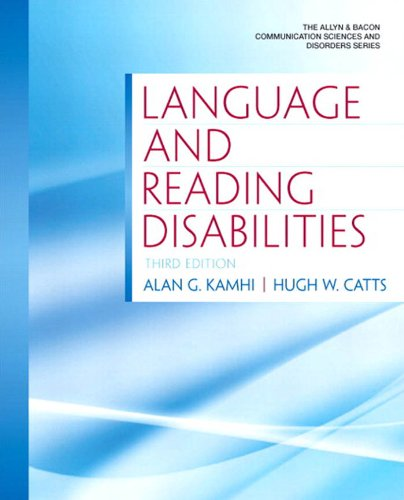 Language and Reading Disabilities (Allyn & Bacon Communication Sciences and Disorders)