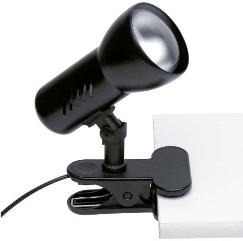 Brilliant 06301T06 Minor 60W Klammerleuchte schwarz