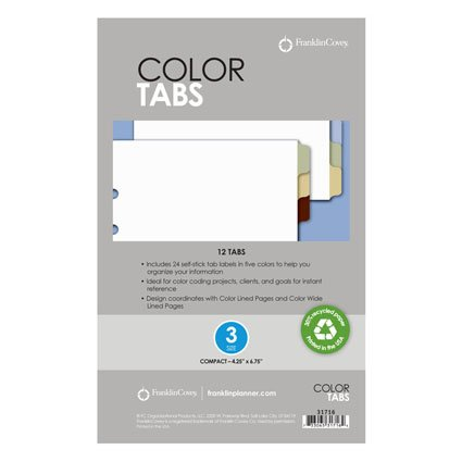Compact Color Tabs