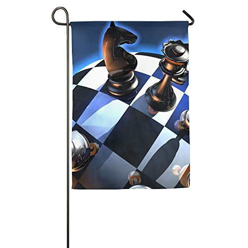Chess Summer Beach Outdoor Decor Garden Flag 12 X 18 Without Holder And Polese Yard Flags