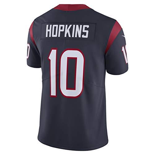 Ouyehcs Mens Deandre_Hopkins_10_Navy Fans Replica Jersey Sportswear Custom Football Game Limited Elite Legend - 10 Replica Navy Football Jersey