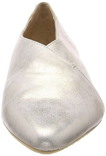 Kmb Ladies Pan Chiuso Ballerine Argento (argento 15)