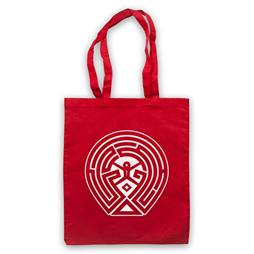 Maze Tote Map Map Red Tote Westworld Map Tote Bag Maze Red Bag Westworld Red Maze Bag Westworld qwAxSX4
