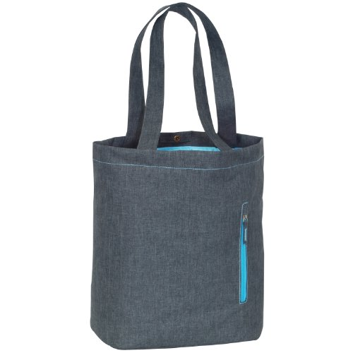 Everest Laptop and Tablet Tote Bag, Charcoal, One Size ()