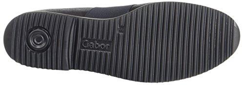 Gabor Comfort Sport, Scarpe Stringate Donna Blu (Nightblsglitter)
