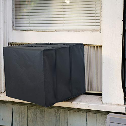 Foozet Window Air Conditioner Cover Winter AC Unit Cover, Large