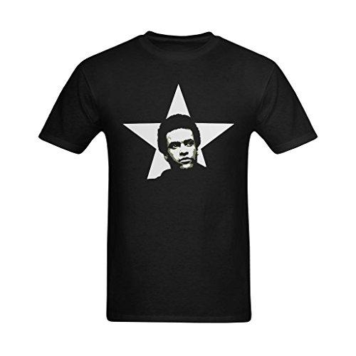 Nehasigo Men's Huey Newton Drawing Design T-shirt]()